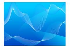Priorità bassa astratta blu Fotografia Stock Libera da Diritti