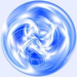 Priorità bassa astratta blu illustrazione vettoriale
