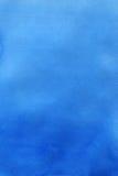 Priorità bassa astratta blu dell'acquerello Immagine Stock Libera da Diritti