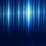 Priorità bassa astratta blu di tecnologia Struttura spazzolata del ferro Illustrazione moderna Compressa o desktop computer di Mi Immagini Stock Libere da Diritti