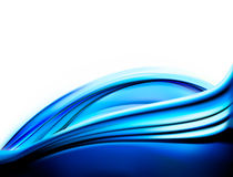 Priorità bassa astratta blu elegante di affari Immagini Stock