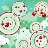 Priorità bassa astratta - bolle Fotografia Stock Libera da Diritti