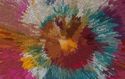 Priorità bassa astratta Colourful illustrazione di stock