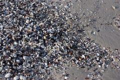 Priorità bassa astratta con le coperture e la sabbia Immagine Stock
