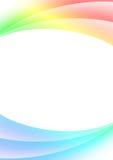 Priorità bassa astratta con le righe multi-coloured Immagine Stock Libera da Diritti