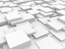 Priorità bassa astratta - cubi Fotografie Stock