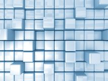 Priorità bassa astratta - cubi Fotografia Stock Libera da Diritti