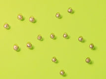 Priorità bassa astratta dei branelli di beads Fotografia Stock Libera da Diritti