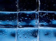 Priorità bassa astratta dei cubi di ghiaccio Immagine Stock Libera da Diritti
