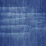 Priorità bassa astratta dei jeans Fotografia Stock