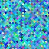 Priorità bassa astratta dei quadrati colorati Immagini Stock Libere da Diritti