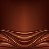 Priorità bassa astratta del cioccolato Fotografie Stock Libere da Diritti