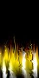 Priorità bassa astratta del fuoco Immagini Stock