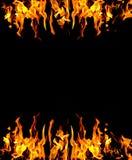 Priorità bassa astratta del fuoco Fotografia Stock Libera da Diritti