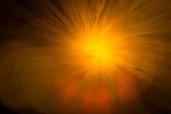 Priorità bassa astratta del fuoco della stella Fotografia Stock
