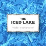 Priorità bassa astratta del ghiaccio Fotografia Stock Libera da Diritti