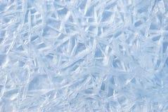Priorità bassa astratta del ghiacciolo Fotografia Stock Libera da Diritti
