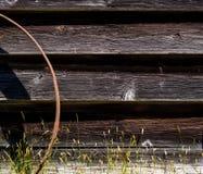 Priorità bassa astratta del granaio Fotografie Stock Libere da Diritti