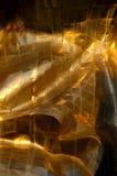 Priorità bassa astratta del metallo dell'oro Fotografia Stock Libera da Diritti