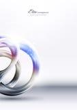 Priorità bassa astratta del metallo di tecnologia illustrazione di stock
