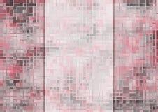Priorità bassa astratta del mosaico Illustrazione Vettoriale