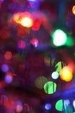Priorità bassa astratta del nuovo anno Fotografia Stock