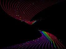 Priorità bassa astratta del Rainbow Fotografie Stock Libere da Diritti
