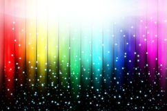 Priorità bassa astratta del Rainbow Immagini Stock Libere da Diritti