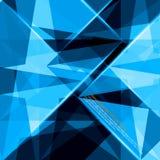 Priorità bassa astratta del triangolo illustrazione vettoriale