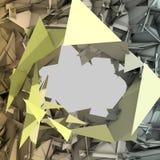Priorità bassa astratta del triangolo Fotografie Stock