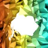 Priorità bassa astratta del triangolo Immagine Stock Libera da Diritti