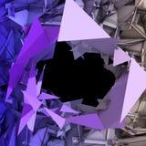 Priorità bassa astratta del triangolo Fotografia Stock Libera da Diritti