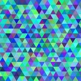 Priorità bassa astratta del triangolo Fotografia Stock
