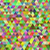 Priorità bassa astratta del triangolo Fotografie Stock Libere da Diritti