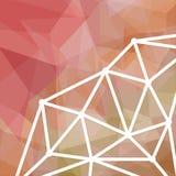 Priorità bassa astratta del triangolo Buon disegno Fotografia Stock