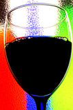 Priorità bassa astratta del vino fotografia stock