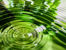 Priorità bassa astratta dell'acqua Fotografie Stock Libere da Diritti
