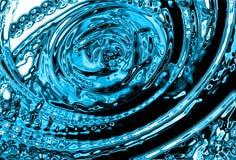 Priorità bassa astratta dell'acqua Fotografia Stock