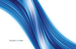 Priorità bassa astratta dell'azzurro di turbinio Fotografie Stock Libere da Diritti