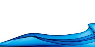 Priorità bassa astratta dell'onda illustrazione vettoriale