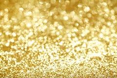 Priorità bassa astratta dell'oro Fotografia Stock