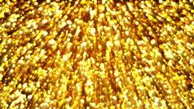 Priorità bassa astratta dell'oro contesto digitale Fotografie Stock Libere da Diritti