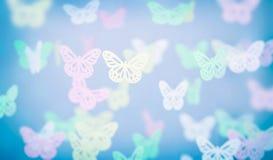 Priorità bassa astratta della farfalla Fotografia Stock