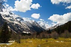 Priorità bassa astratta della montagna Fotografia Stock Libera da Diritti