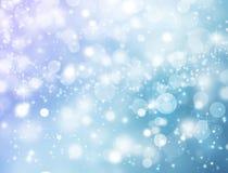 Priorità bassa astratta della neve Fotografia Stock Libera da Diritti