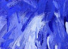 Priorità bassa astratta della pittura a olio Fotografia Stock Libera da Diritti