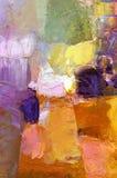 Priorità bassa astratta della vernice acrilica Fotografia Stock