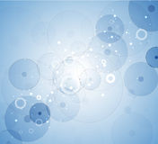 Priorità bassa astratta delle cellule Ricerca di scienza e della medicina Fotografie Stock