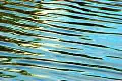 Priorità bassa astratta delle ondulazioni dell'acqua fotografia stock libera da diritti