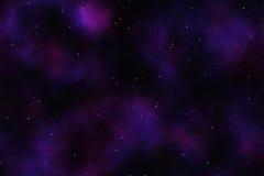 Priorità bassa astratta dello spazio cosmico Fotografia Stock Libera da Diritti